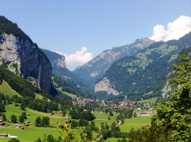 עמק לאוטרברונן - שוויץ